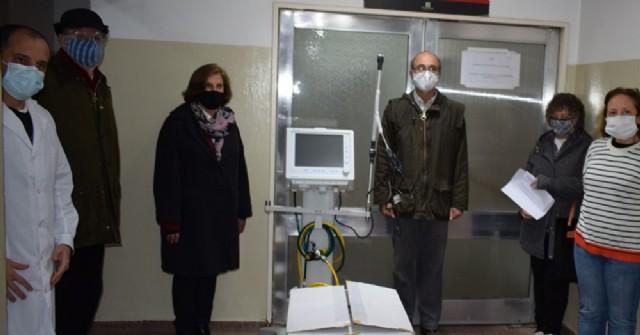 El Hospital municipal recibe dos respiradores