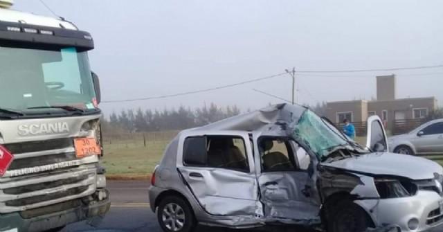 Accidente fatal en la Ruta 188: Murió una mujer
