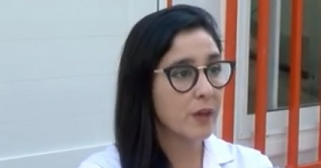 La médica rojense Laura Ortube, jefa de guardia del Hospital Provincial de Rosario