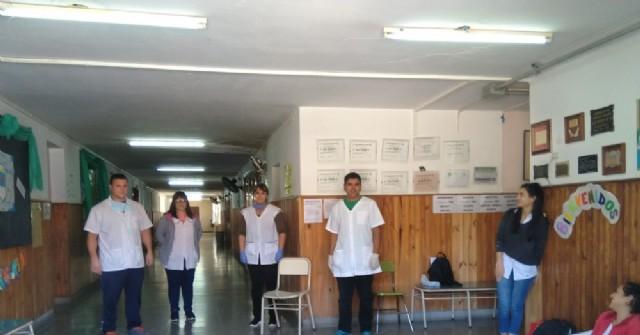 La Escuela Primaria 11 entregó alimentos y cuadernillos pedagógicos