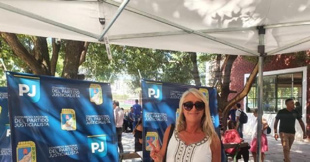 Corina Cuitiño participó del Congreso nacional del Partido Justicialista