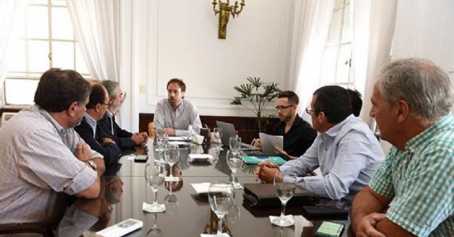Claudio Rossi participó de una reunión con el ministro de Hacienda bonaerense