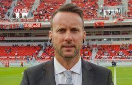 El periodista deportivo Hernán Feler estuvo en Rojas.