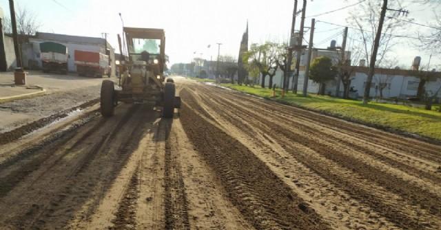 Servicios Urbanos continúa trabajando sobre Diego Trillo