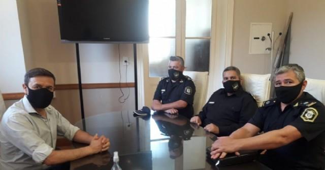 El nuevo jefe departamental de la Policía Vial se presentó ante las autoridades locales