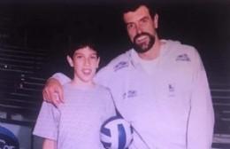 Voley: cuando Hugo Conte jugó para Rojas