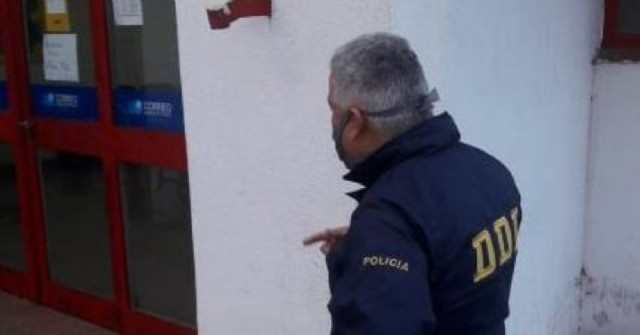 Golpe boquetero en el Correo Argentino de Colón