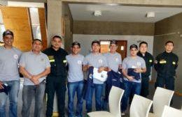 Bomberos Voluntarios: culmina el viaje de capacitación en Chile