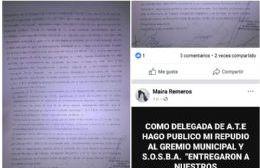 """Estalla la interna entre los municipales de Pergamino, que acusan al gremio de """"entregarlos"""" al ejecutivo"""