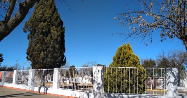 Trabajos de refacción y mantenimiento en la Plaza de Educación Vial Juan Gálvez