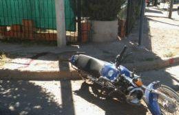 La colisión fue en Avellaneda y Lamadrid.