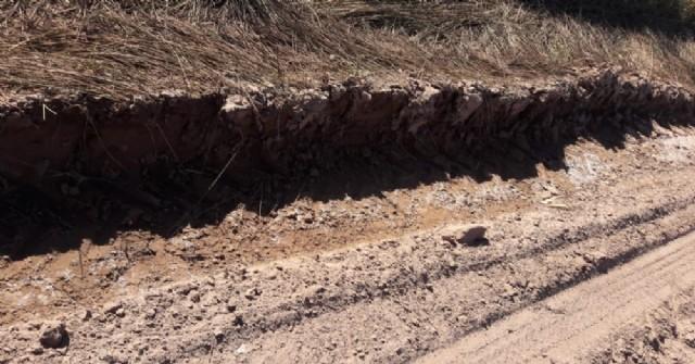 Caminos rurales en mal estado: Preocupación de productores ante la inminencia de la cosecha