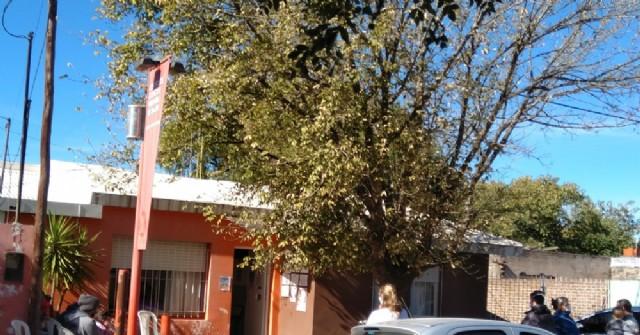 Vacunación en la Sala de Barrio Santa Teresa