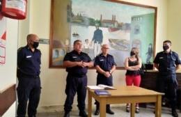 Se formalizó el cambio de autoridades en la jefatura de nuestra Policía Comunal