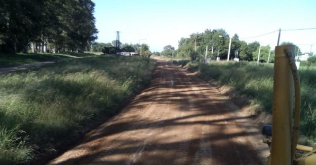 Acondicionaron la traza de los caminos de ingreso a Barrio La Loma