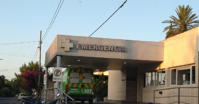Choque, fuga y heridos