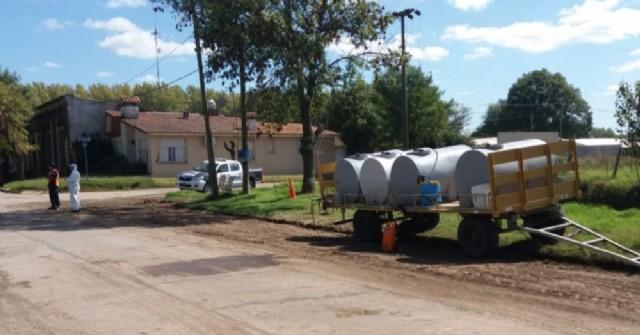 En Rafael Obligado es oficial la desinfección vehicular al ingresar a la localidad