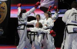El campeonato bonaerense de Taekwon-do se hace en Sportivo