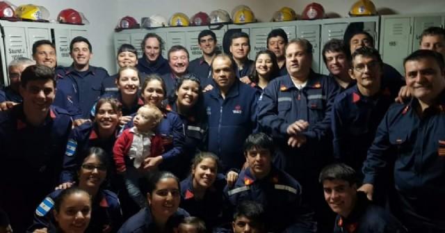 Bomberos Voluntarios de Carabelas cumplieron 28 años