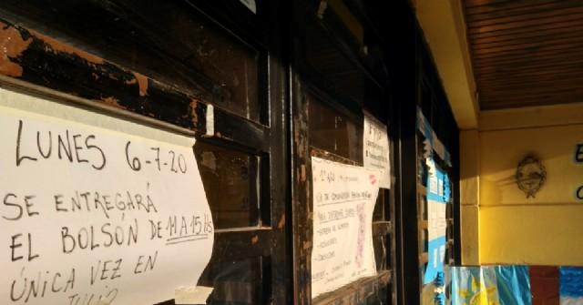 Se completa la entrega de módulos alimentarios en las escuelas del distrito