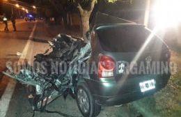 Accidente fatal a la altura de la localidad de Acevedo
