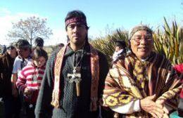Oscar Farías del Movimiento Mapuche de Junín.