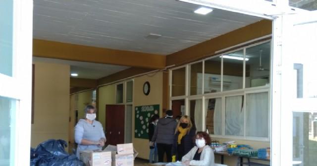Las instituciones educativas cumplen con las entregas de alimentos y de cuadernillos pedagógicos
