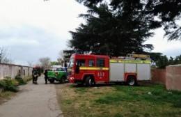 Bomberos controlaron principio de incendio en el ex Motel Kamao