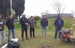 Bini y funcionarios de Agricultura estuvieron en el Hormiguero Agroecológico