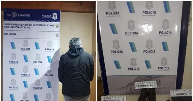 """Dos detenidos en Junín: uno por tenencia de cocaína y el otro, por intentar hacer """"el cuento del tío"""""""