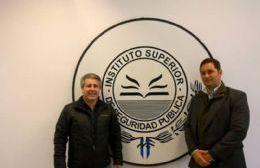 Javier Martínez con uno de sus socios en la red de manejos espurios, Rodrigo Aguilar.