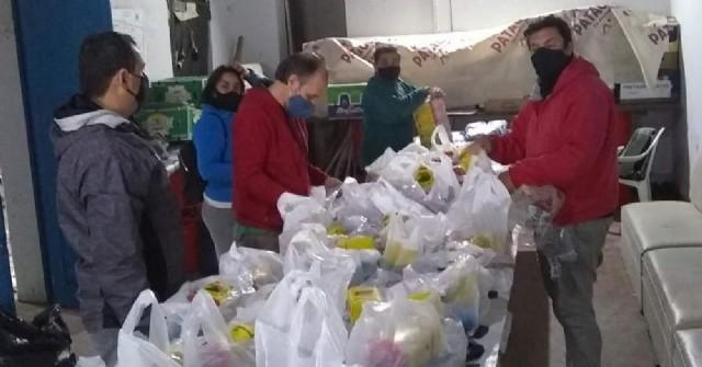 Concejales de la oposición cumplieron con una nueva jornada de asistencia alimentaria