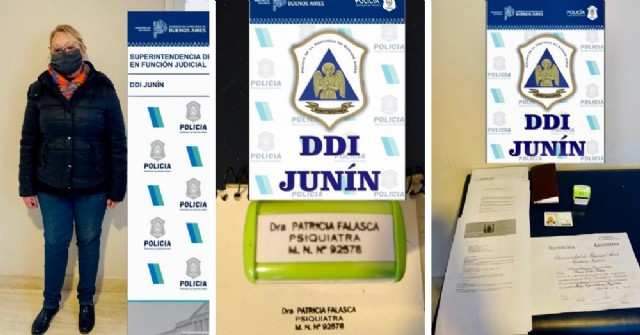 Detectaron una falsa médica en una clínica de salud mental de Junín