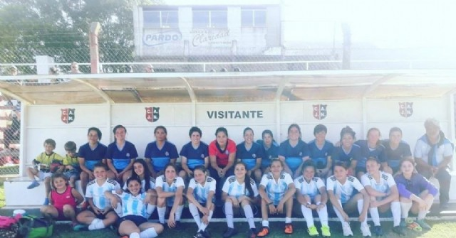Fútbol femenino: Gran jornada se vivió en Jorge Newbery