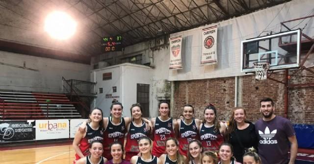 Tres triunfos para las chicas de Sportivo