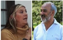 Sandra Sartelli y Luis Caso.