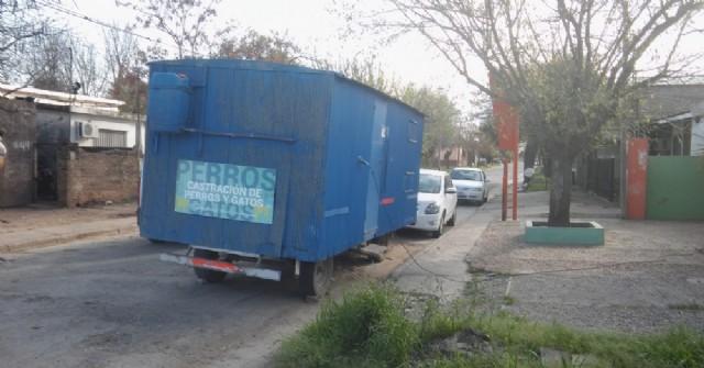 La Cabina de Zoonosis Municipal está atendiendo en la salita de Barrio Santa Teresa