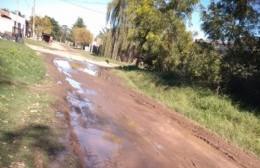 Se agudiza el mal estado de las calles de La Loma