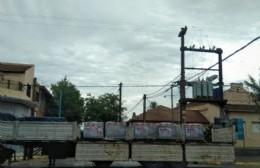 Comienza la reconstrucción de las veredas del Hospital Municipal