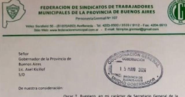 El Sindicato de Empleados Municipales ratifica el pedido del bono para toda la plantilla