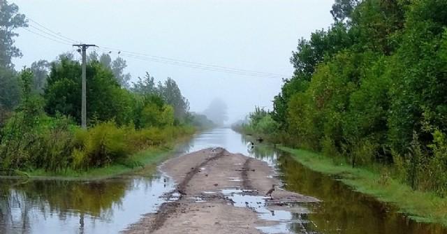 El Club de Pescadores fue afectado por las últimas lluvias