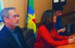 La fiscal Fernanda Sánchez brindó en la mañana de este miércoles una conferencia de prensa.