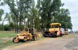 Se reanudan los trabajos de repavimentación de la Ruta 188