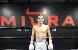 Ronan Sánchez peleará el 16 de abril en México