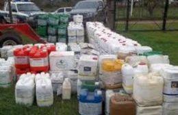 Valiosos herbicidas sustraídos (foto ilustrativa).