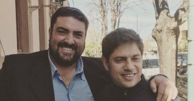 Ramiro Baguear y Axel Kicillof.