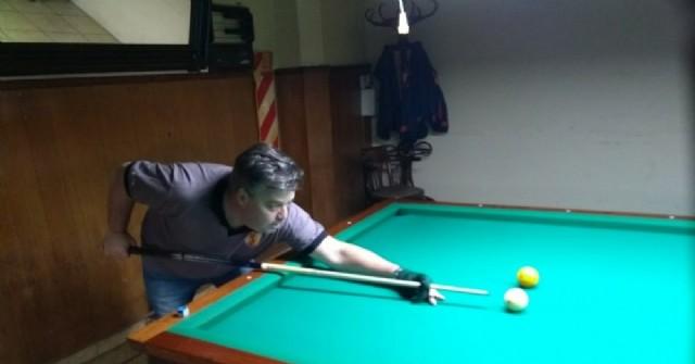 Con la presencia de Gustavo Roques, se juega el Master