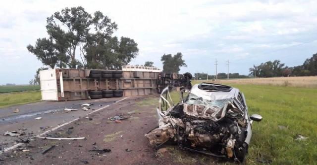 Accidentes en rutas aledañas a Pergamino: Una víctima fatal y varios heridos