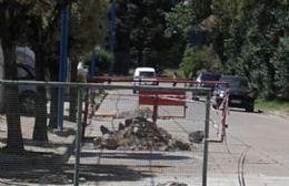 Por fin el municipio se dignó a tapar los baches.