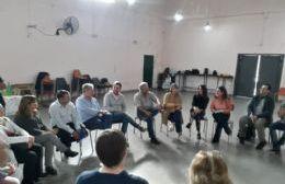 Reunión de las autoridades con el Grupo Obligado Turístico, en mayo de este año.